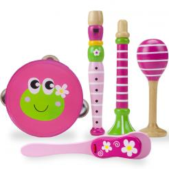 Mini Melodies Wooden Instrument Set