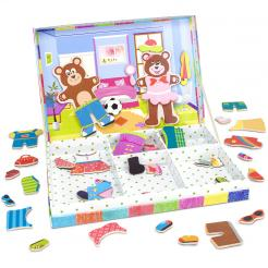 Bear Cubs Magnetic Dress-Up is a 47 piece Playset