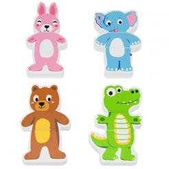 Mix-n-Match Magnetic Animals play set