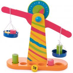 Weights and Measures Balancing Scale is a perfect STEM educational wooden toy