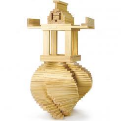 150 piece Wooden Plank Building Set