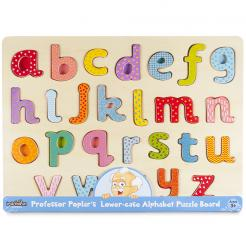 Professor Poplar Lower-case Alphabet Puzzle
