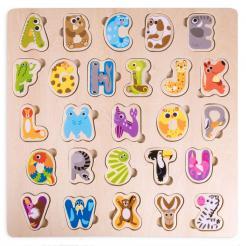 Professor Poplar's Animal Alphabet Puzzle