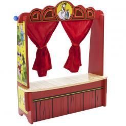 Mother Goose's Tabletop Puppet Theater is perfect for developing role playing skills