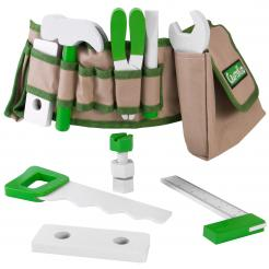 Handy Dandy Tool Belt is a 16 piece role playing toy