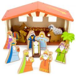 Nativity Set is 15 piece holiday play set