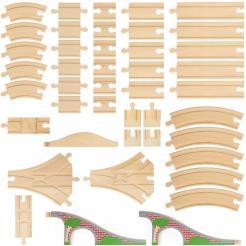 42 Piece Bulk Track Pack